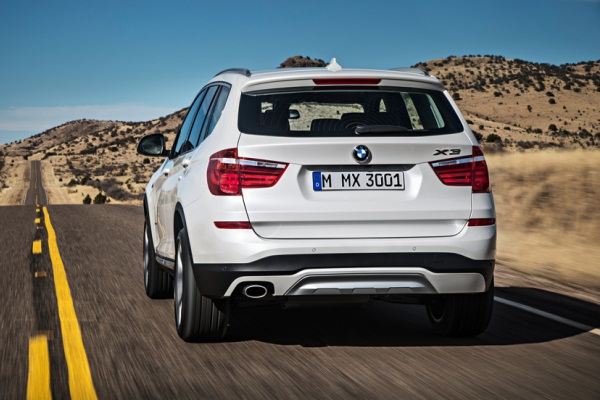 Noul BMW X3 facelift 2014 spate