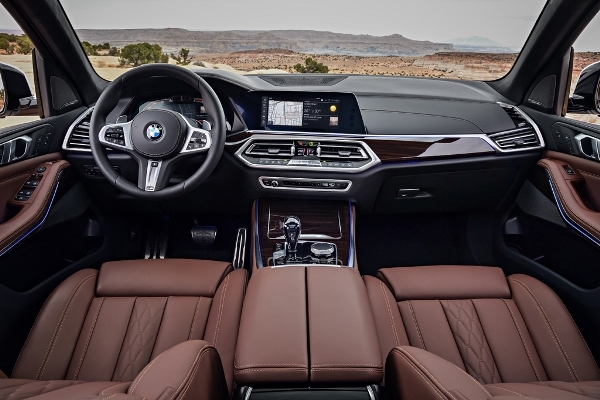 Noul BMW X5 2018 interior