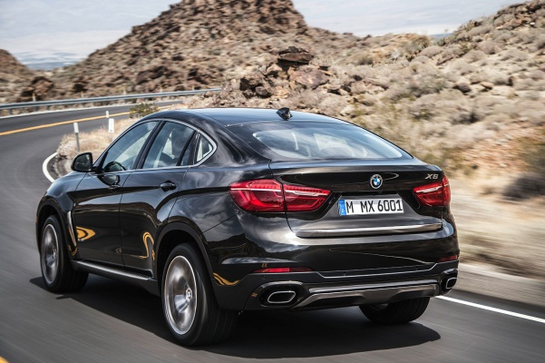 Noul BMW X6 2 spate