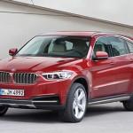 Noul BMW X7 fata
