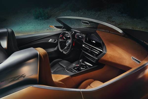 Noul BMW Z4 interior