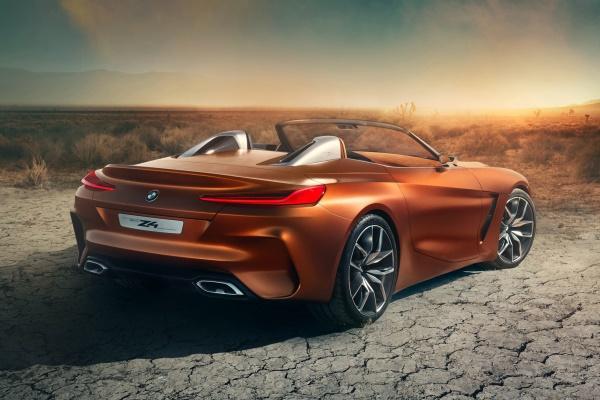 Noul BMW Z4 spate