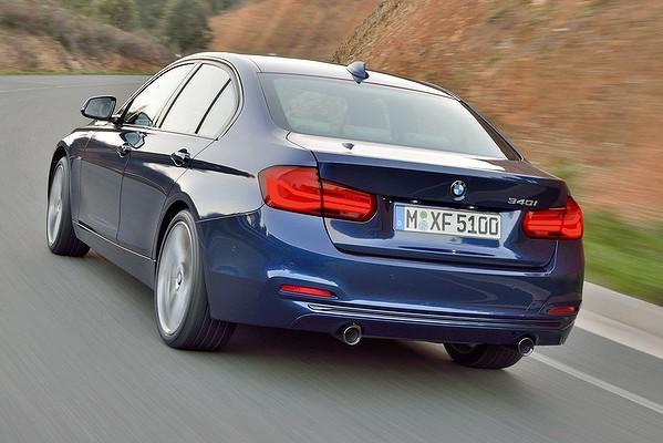 Noul BMW seria 3 2015 spate
