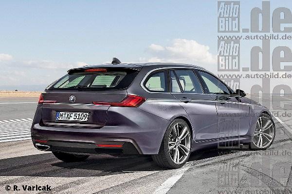 Noul BMW seria 3 2018 schite