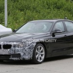 Noul BMW seria 3 facelift lateral