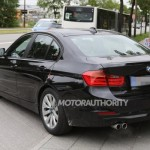 Noul BMW seria 3 facelift spate