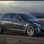 Noul Cadillac CTS-V 2015 cel mai puternic automobil de marca Cadillac lateral