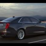 Noul Cadillac CTS-V 2015 cel mai puternic automobil de marca Cadillac spate