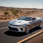 Noul Chevrolet Camaro Cabriolet - Convertible 2016 fata