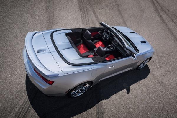 Noul Chevrolet Camaro Cabriolet - Convertible 2016 spate