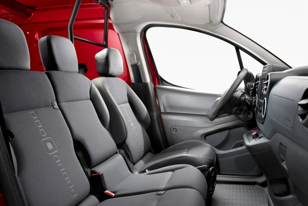 Noul Citroen Berlingo 2015 model marfa interior