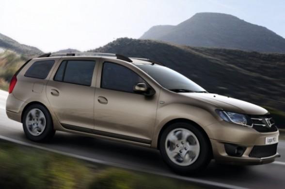 Noua Dacia Logan MCV 2013 lateral