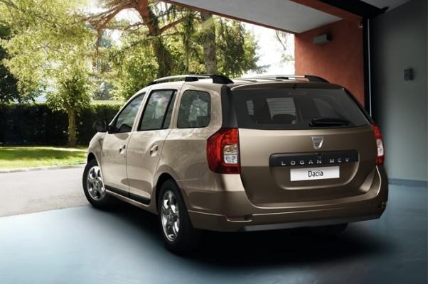 Noua Dacia Logan MCV 2013