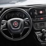 Noul Fiat Doblo 2014 facelift interior