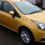 Noul Fiat Punto facelift 2015