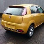 Noul Fiat Punto facelift 2015 spate