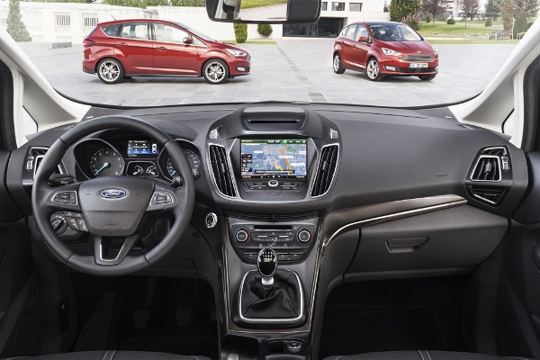 Noul Ford C-Max facelift 2014 interior