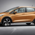 Noul Ford Fiesta Active lateral