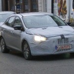 Noul Ford Focus Facelift 2014 berlina fata