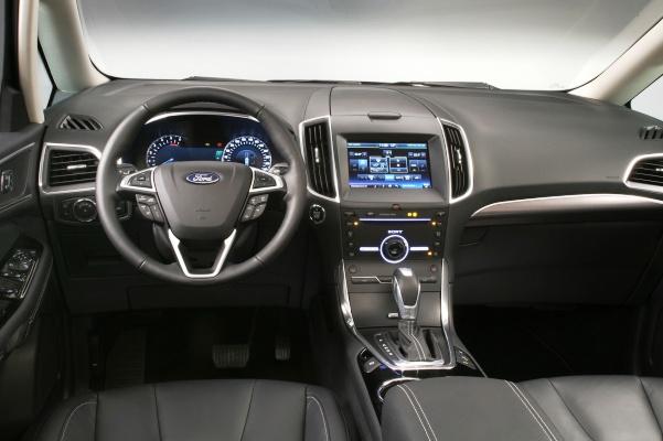Noul Ford Galaxy 2015 interior