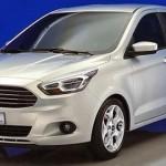 Noul Ford Ka fata