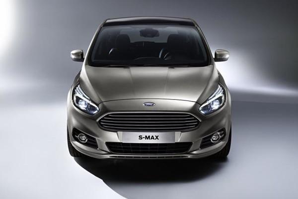 Noul Ford S-Max 2015 fata