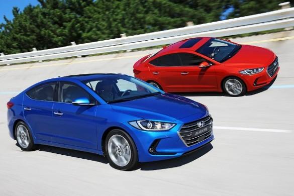 Noul Hyundai Elantra 2015 lateral