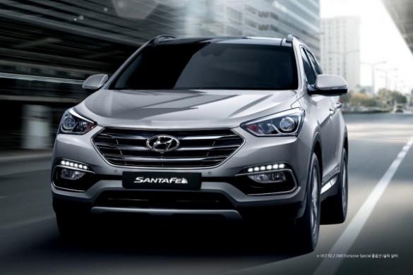 Noul Hyundai Santa Fe 2015 facelift