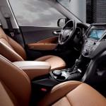 Noul Hyundai Santa Fe 2015 facelift interior