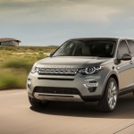 Noul Land Rover Discovery Sport in motion