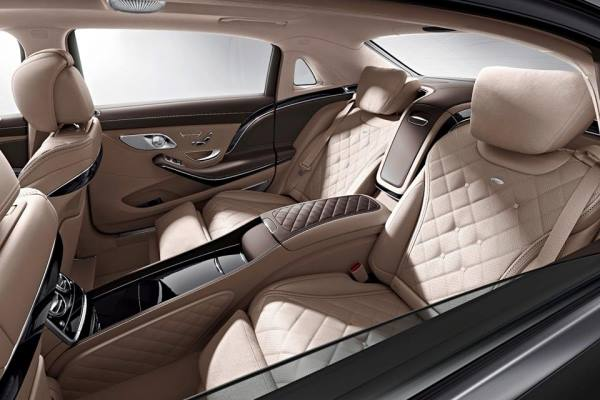 Noul Maybach 2014 interior