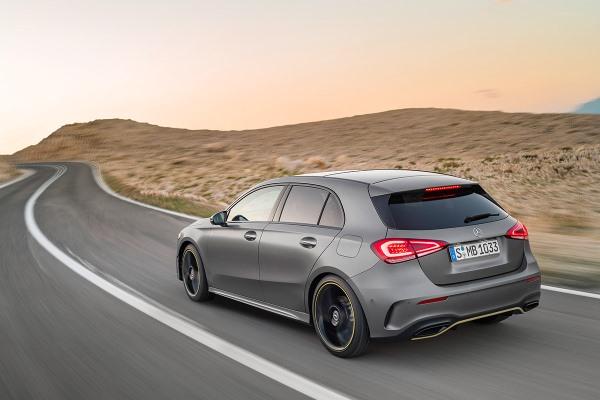 Noul Mercedes A Class 2018 spate