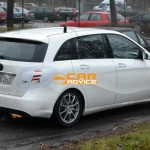 Noul Mercedes B Class facelift lateral spate