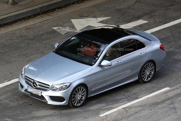 Noul Mercedes-Benz C Class fata