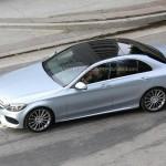 Noul Mercedes-Benz C Class lateral