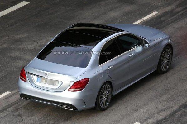 Noul Mercedes-Benz C Class spate