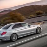 Noul Mercedes C Class 2014 in motion