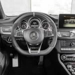Noul Mercedes CLS facelift interior