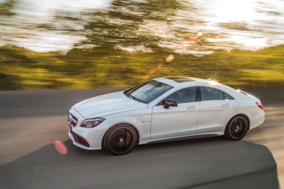 Noul Mercedes CLS facelift lateral