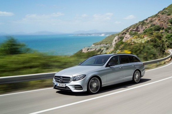 Noul Mercedes E-Class Estate 2016 lateral