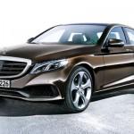 Noul Mercedes E-Class - schita Autobild