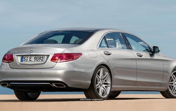 Noul Mercedes E-Class spate