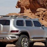 Noul Mercedes G Class facelift - conceptul Ener-G-Force