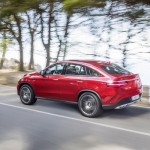Noul Mercedes GLE Coupe lateral