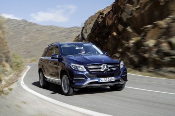 Noul Mercedes GLE - ML facelift