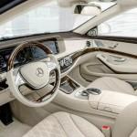 Noul Mercedes-Maybach pentru 2015 interior