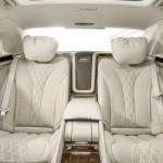 Noul Mercedes-Maybach pentru 2015 interior 2