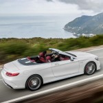 Noul Mercedes S-Class Cabrio 2015 lateral