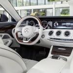 Noul Mercedes S-Class Cabrio - interior