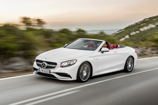 Noul Mercedes S-Class Cabrio - photo
